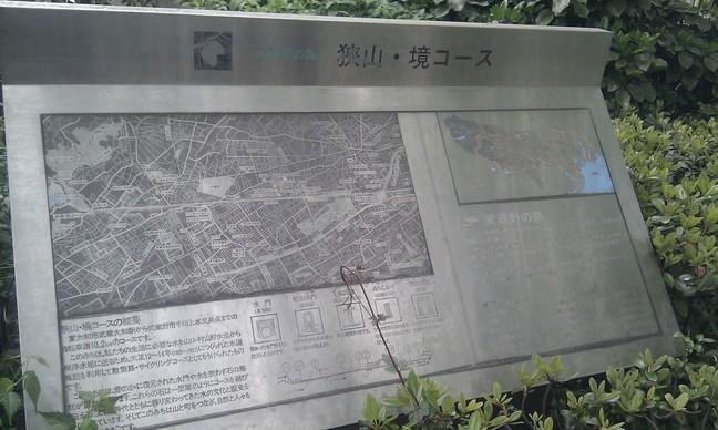 自転車道の案内図